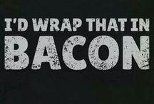 Bacon yummy bacon / by Kitty ^.''.^