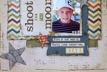 scrapping / Scrapbook pages inspiration.     / by Mrs Homemade