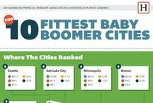 Fittest Baby Boomer Cities / Top 10 Fittest Baby Boomer Cities / by MoveForwardPT