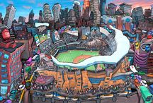 My Art - Stadiums / by Michael Birawer