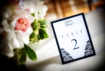 Table Numbers & Escort cards / by Madge S