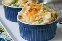 Dinner: casseroles and one-dish meals / by Lauren Clark