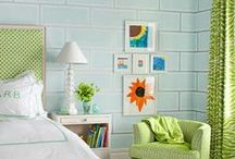 Lovely Kids Rooms & Family Spaces / by Kidfresh Foods