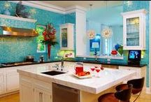 Homes - Kitchens / Lovely Kitchens / by Dasi Glam