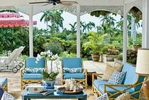 Homes - Porches Patios & Decks / Porches Patios & Decks / by Dasi Glam