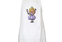 Cardvibes aprons / Funny aprons by Cardvibes / by Tekenaartje.nl - Cardvibes.com