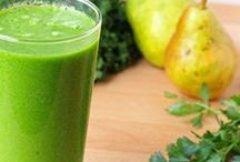Green Smoothies | Juicing, Raw / by angela peck {lymphatic + organic, whole plant skincare specialist}