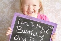 Peyton's Birthday Idea's / by Stefanie Summers