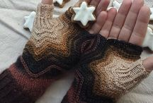 Knit Mitts, Gloves, Hats / by Donna Hoekzema