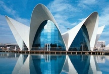 """Thin-Shell Structures / """"To provide meaningful architecture is not to parody history but to articulate it."""" ~Daniel Libeskind / by Nanette Clark"""