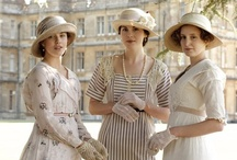 """Downton Abbey  / """"The sun is rising behind Downton Abbey, a great and splendid house in a great and splendid park. So secure does it appear, that it seems as if the way of life it represents will last for another thousand years. It won't."""" ~Juilan Fellowes / by Nanette Clark"""