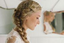 wedding {hair} / by The Pretty Blog