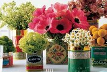 Centerpieces / How to make centerpieces for all occasions, holidays, events, and parties. / by Laurie Turk TipJunkie.com