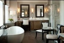 Bathrooms / Bathrooms are some of the most fun rooms to decorate. Small and often compact, a little design can go a long way! / by Rebecca Robeson