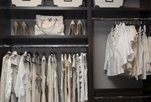 Closets / Perhaps a woman's most savory room in the house, the mood of your closet can totally change the your mood as you get ready to take on the world. Here are my takes and my favorites on the rooms dedicated to style from the beginning.  / by Rebecca Robeson