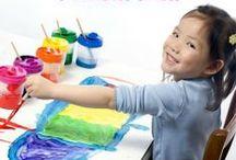 Preschool Ideas / by Leanna @ Alldonemonkey.com