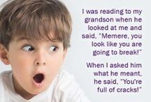 My Funny Grandkids / Kids say the darndest things and our grandkids are no different. Read all of the funny reader submissions we've received. Add your own in the comments or on our facebook page and we'll add it to our list! http://www.facebook.com/grandparents.com / by Grandparents.com