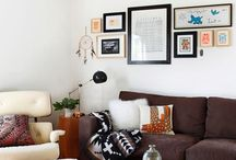Art in the Hizzouse / Inspo and tips for hanging, framing, arranging, or otherwise showcasing art in the home. A home without art is like a bed without blankets. Or something.  / by J.J. Johnson