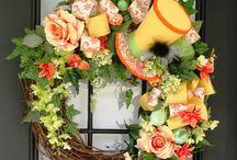 <Wreaths> / by Chelsea Nicole Oldroyd