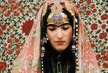 tribal variations / ouled nail, fulani, tuareg, turkoman, rajasthani, berber, bedouin, hmong / by jenny moss