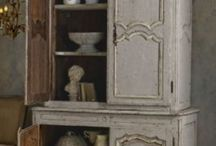 Furniture~French~Painted / Workshops in Lorgues, Provence with Annie Sloan Chalk Paint / by Art by Wietzie