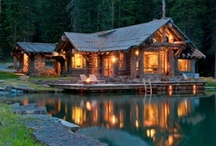 No place like HOME / Dream houses, garages, doors, windows, etc... for the home / by Kathy Robbins-Wise