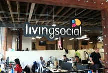 LivingSocial Offices / Is it your dream to work out of a cool, hip office? Guess what- we've got you covered. Skee ball machines, ping pong pong, and unlimited snacks, oh my!  / by LivingSocial Careers