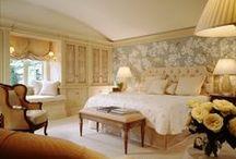 bedrooms / by Elizabeth de Montfort Walker