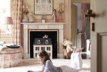 & daughters: bedrooms / by Elizabeth de Montfort Walker