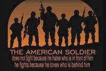 GOD BLESS OUR ARMED FORCES / by Sherry Whitlock