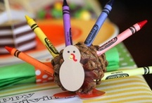 Thanksgiving Family Fun / Thanksgiving ideas for family fun - crafts, activities, and ways to play / by Carolyn { Pleasantest Thing }