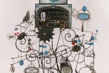 Mechanical Art- Perpetual Motion- Ferrofluid / by Essential Nest