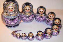 Russian nesting dolls / by Wendi Colebrissi
