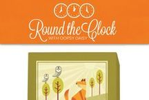 Pin to Win: Round the Clock with Oopsy Daisy / by Oopsy Daisy - Fine Art For Kids