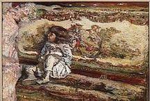 Vuillard~Bonnard / by PAMELA de Santa Fe