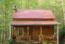 CABINS- LOG AND OTHERWISE / by Glen Saunders