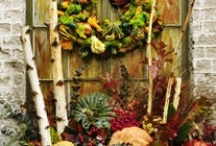 Fall Decor, Recipes & Desserts for Thanksgiving / by Donna Damron Jesse