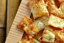 Crispy Crackers / Make your own crackers :) / by Kelsey Rose