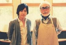 illustrations // Hayao Miyazaki / by Aileen Kim