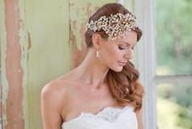 "Wedding Hair / I'm obsessed with gorgeous hair and wedding hair is the ""diamond ring"" of hair! Enjoy! / by Rhonda Giedt"