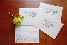 Invitations / by Maggie B