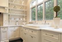 Kitchens: Open Shelving / by Interiors 360 Lisa Springer