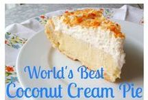Coconut Cream Pie / by CHEFS Catalog
