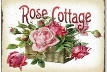 The Rose Cottage / Who doesn't love roses? ... As with all my boards, please take all that pleases you ! / by Avis Blowers
