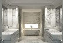 Bathroom / Interior Design: residential bathrooms / by Sandy Chang