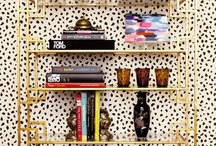 Bookcases & shelving / Interior Design: bookcases and shelving  / by Sandy Chang
