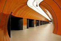 Estações de metro  / by Kalidi