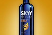 SKYY Infusions Ginger Recipes / SKYY Infusions Ginger Cocktail Recipes / by SKYY Vodka