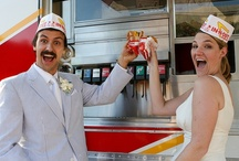And Now For Something Completely Different...To Eat! / No vanilla wedding food here! / by Rebel Belle Weddings