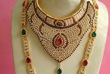 Bridal Jewelry Online / Check out our Indian Bridal Jewelry Collection, which has a fashionable assortment of dazzling jewels in clean cuts and ornate designs. / by Utsav Fashion